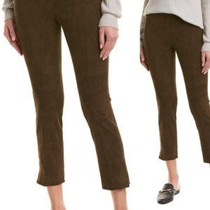 Vince brown ankle cropped pants medium